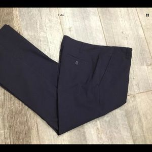 Ruby Rd. Women's Casual Pants Pockets Navy Blue